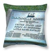 Dardanelle Plack Throw Pillow