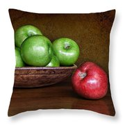 Dare To Be Different 3 Throw Pillow