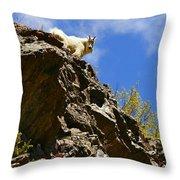 Dare To Climb Throw Pillow