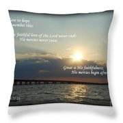 Dare To Hope Throw Pillow
