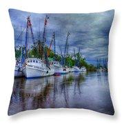 Darien Harbor Throw Pillow