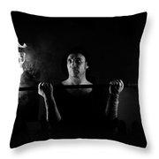 Dark Ages Throw Pillow