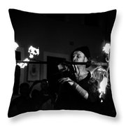 Dark Ages II Throw Pillow