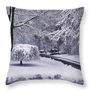 Dark And Light Throw Pillow