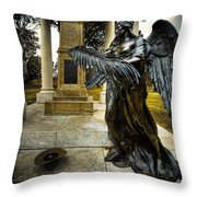 Dark Angel Throw Pillow