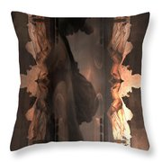 Dark Angel's Crossing Throw Pillow