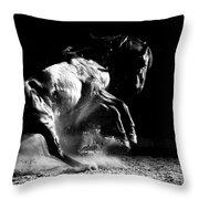 Dark Dance Throw Pillow