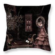 Dark Dream II Pretty As A Picture Throw Pillow