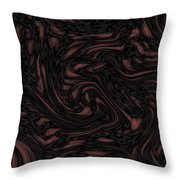 Dark Experiment Throw Pillow