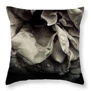 Dark Flower 13 Throw Pillow