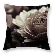 Dark Flower 20 Throw Pillow