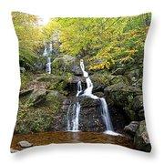 Dark Hollow Falls Throw Pillow