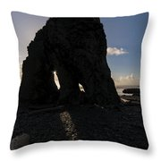 Dark Knight Throw Pillow