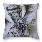 Dark Lord Throw Pillow