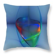 Dark Matter And Gravity Waves Revealed Throw Pillow