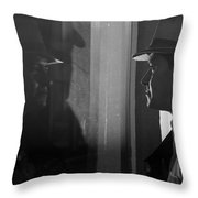 Dark Mirror Throw Pillow