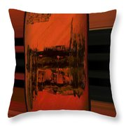 Dark Movement Throw Pillow