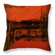 Dark Movement II Throw Pillow