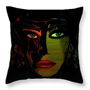 Dark Mystery Throw Pillow