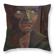 Dark Prince Throw Pillow by Carrie Viscome Skinner
