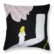 Dark Room Throw Pillow by Melissa Dawn
