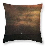 Dark Shore II Throw Pillow