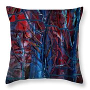 Dark Thoughts Throw Pillow