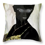 Dark Vision - Featured On Comfortable Art And A Place For All Groups Throw Pillow