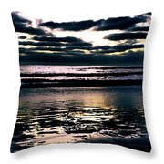 Darkness Can Only Be Scattered By Light Throw Pillow