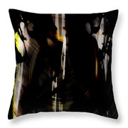 Darkness Comes To Us All Throw Pillow
