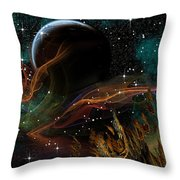 Darkseid Throw Pillow