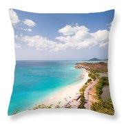 Darkwood Beach Throw Pillow