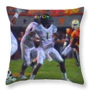 Darron Thomas Throw Pillow