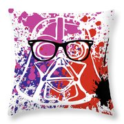 Darth Vader Corrective Lenses Throw Pillow