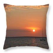 Fannie Bay Sunset 1.4 Throw Pillow