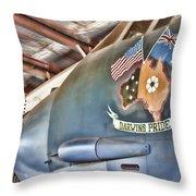 Darwin's Pride-b52 Bomber Throw Pillow