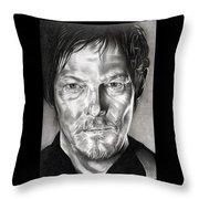 Daryl Dixon - The Walking Dead Throw Pillow