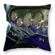 Dashboard Glam Throw Pillow