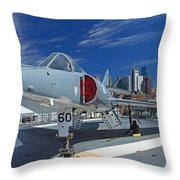 Dassault Etendard  Throw Pillow