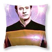 Data Star Trek Portrait Framed Print By Scott Wallace