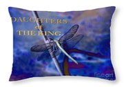 Daughters Of The King Throw Pillow