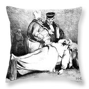 Daumier: Republican, 1834 Throw Pillow