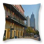 Dauphin Street Throw Pillow