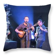 Dave And Stefan Throw Pillow