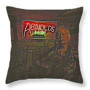Dave Hawkins Abstract Throw Pillow