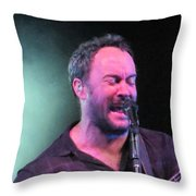 Dave In The Zone Throw Pillow