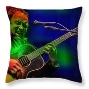 Dave Matthews Throw Pillow