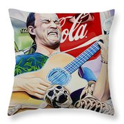 Dave Matthews Seek Up Throw Pillow