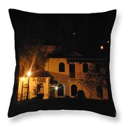 Davenport At Night Throw Pillow