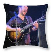 Daves Crazy Face Throw Pillow